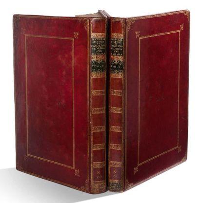 CATESBY MARK (1683-1749). Naturaliste et artiste anglais.
