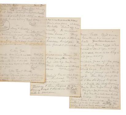 CLEMENS SAMUEL LANGHORNE [MARK TWAIN] (1835-1910).