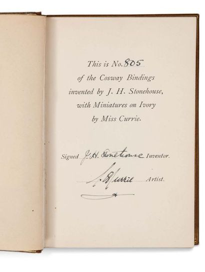 DODGSON CHARLES LUTWIDGE [LEWIS CARROLL] (1832-1898). Alice's Adventures in Wonderland…...