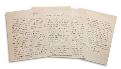 EISENHOWER DWIGHT DAVID (1890-1969). Signed autograph letter, signed « Ike », [London]...