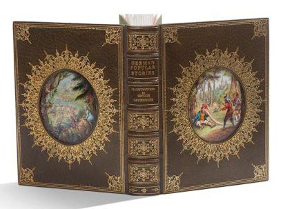 GRIMM JACOB (1785-1863) and WILHELM (1786-1859). Linguistes, philologues et collecteurs de contes allemands.