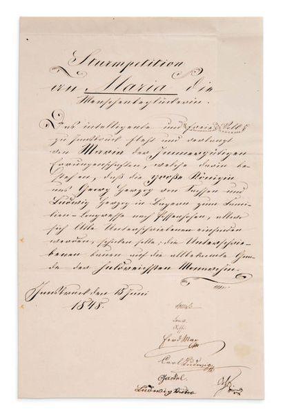 ÉLISABETH DE WITTELSBACH, DITE SISSI (1837-1898)<br/>Impératrice d'Autriche.