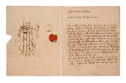HAYDN JOSEPH (1732-1809) LA.S. «Josephus Haydn mppria», Estoras [Esterháza (Hongrie)]...