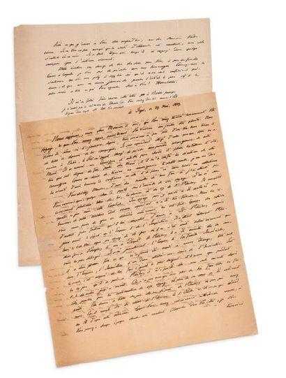 HUMBOLDT WILHELM VON (1767-1835)<br/>Linguiste allemand.
