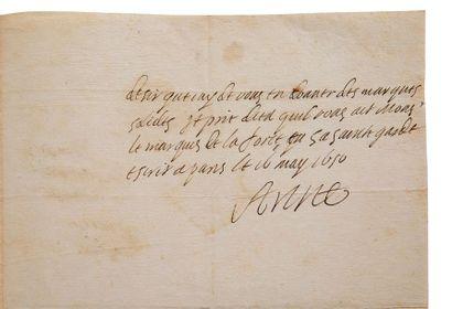 ANNE D'AUTRICHE (1602-1666) Reine de France, femme de Louis XIII, mère de Louis XIV....