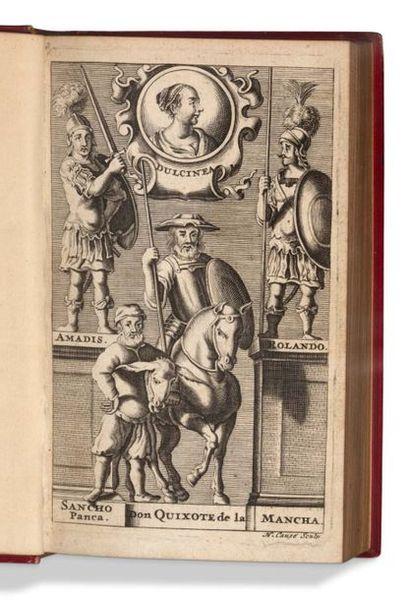 CERVANTES Histoire de l'admirable Don Quixote de La Manche. Suivant la Copie, imprimée...