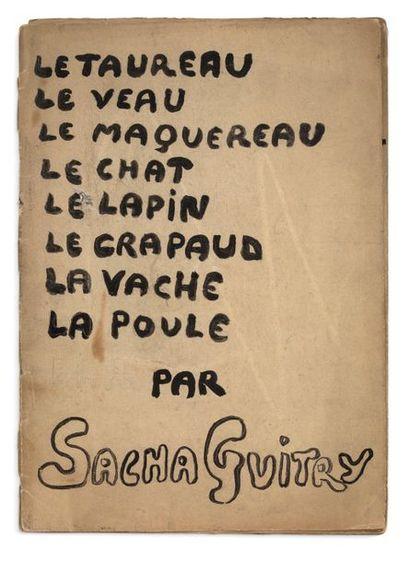 GUITRY Sacha (1885-1957).