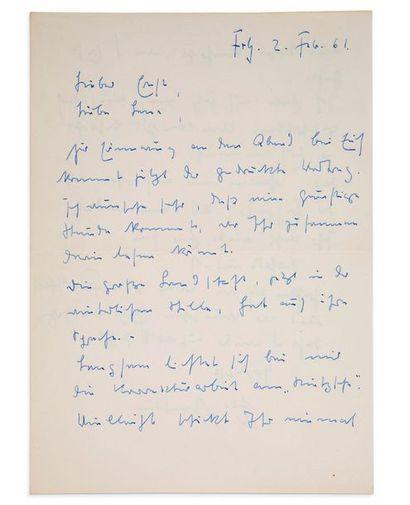 HEIDEGGER Martin (1889-1976) philosophe allemand.