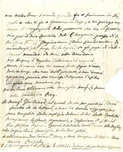 PAISIELLO Giovanni (1740-1816).