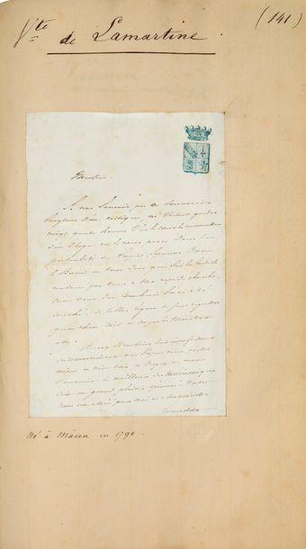 POLITIQUE. COLLECTION d'environ 185 lettres...