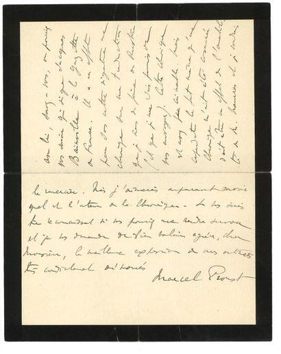 PROUST MARCEL.( 1871-1922).