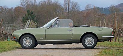 PEUGEOT 504 coupé V6 1975 Collection Francis Staub