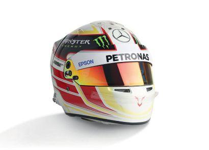LEWIS HAMILTON - 2015 BELL -Mercedes - helmet...
