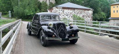 Citroën TRACTION 11A faux cabriolet 1936