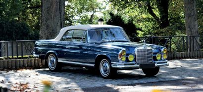MERCEDES-BENZ 280 SE Cabriolet 1968