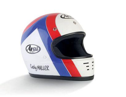 CATHY MULLER ARAI - helmet official helmet...