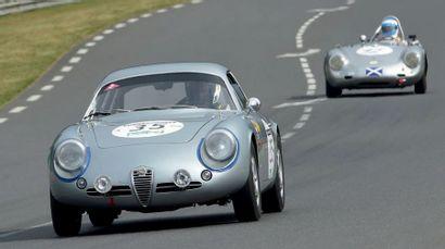 Alfa Romeo GIULIETTA SZ CODA TRONCA 1962 Historique suivi depuis l'origine Ex 24h...
