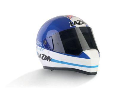 DEREK WARWICK LAZER - helmet officiel non...
