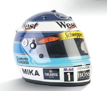 MIKA HAKKINEN - 2000 ARAI -McLaren Mercedes...