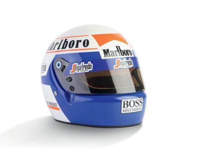 ALAIN PROST - 1985 BELL - McLaren - official...