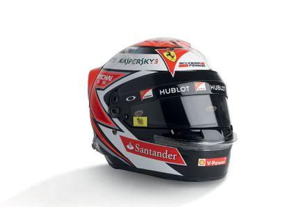 KIMI RAIKKONEN - 2015 BELL - Ferrari - official...