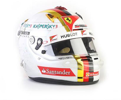 SEBASTIAN VETTEL - 2015 ARAI - Ferrari -...