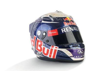 SEBASTIAN VETTEL - 2011 ARAI - Red Bull Racing...