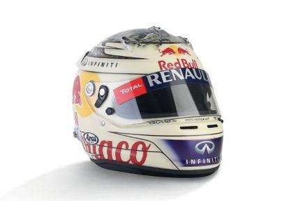 SEBASTIAN VETTEL - 2013 ARAI - Red Bull Racing...