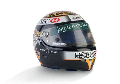 EDDIE IRVINE - 2000 BIEFFE -Jaguar - worn...
