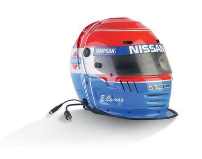 ERIK COMAS SIMPSON - helmet worn official...