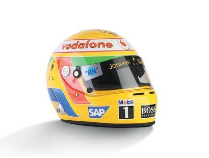 LEWIS HAMILTON - 2007 ARAI - McLaren Mercedes...