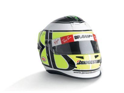 JENSEN BUTTON - 2009 BELL - Brawn GP - official...