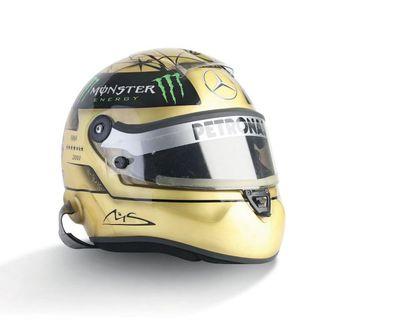 MICHAEL SCHUMACHER - 2011 SCHUBERTH - Mercedes...