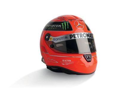 MICHAEL SCHUMACHER - 2012 SCHUBERTH - Mercedes...