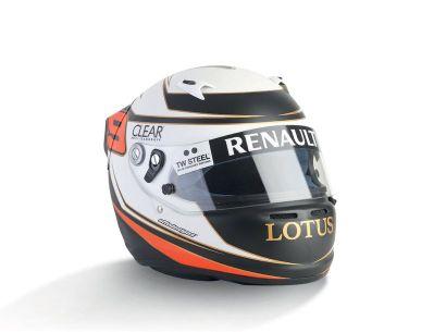 KIMI RAIKKONEN - 2012 ARAI - Lotus F1 - casque...