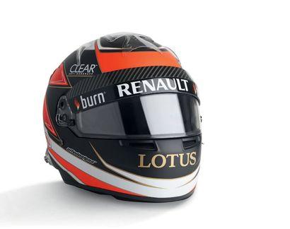 KIMI RAIKKONEN - 2013 BELL -Lotus F1- casque...