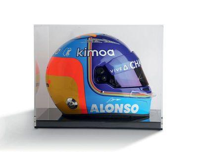 FERNANDO ALONSO - 2018 BELL -McLaren - casque...