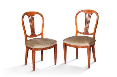 Paire de chaises e