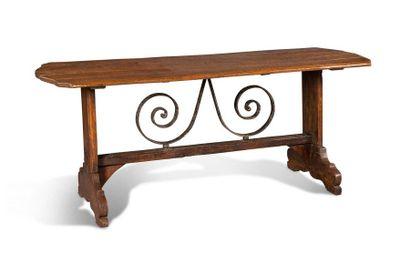 Table de forme rectangulaire