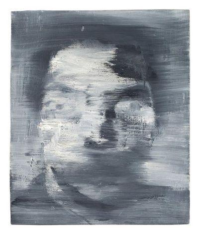 Yan PEI-MING (Né en 1960) Portrait-Robot, 1992 Huile sur toile, signée et datée au...