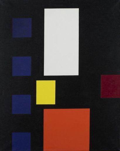 Aurélie Nemours (1910-2005) Céphée , 1969 Huile sur toile, signée, daté et titrée...