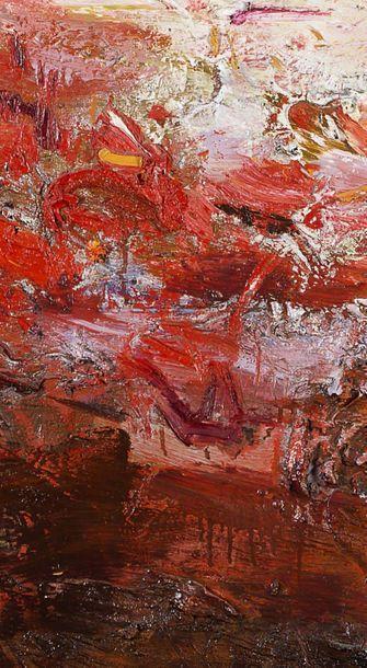 WANG YANCHENG (né en 1960) Sans titre , 2009 Huile sur toile, signée et datée en...