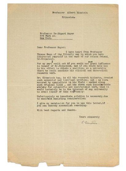 KAFKA FRANZ (1883-1924) Ensemble de trente-huit lettres autographes signées adressées...