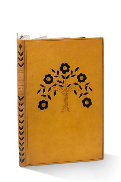 PROUST Marcel (1871-1922) Looking for lost time. Volume II. In the shade of the young...