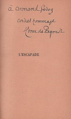 RÉGNIER HENRI DE (1864-1936) - Proses dated, with signed autograph submission. Paris,...