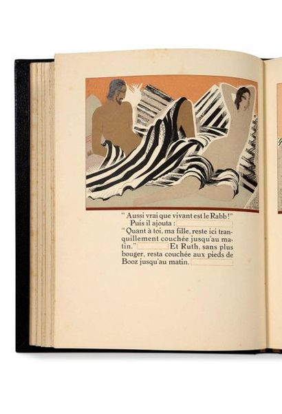 SCHMIED FRANÇOIS-LOUIS (1873-1941) - MARDRUS JOSEPH-CHARLES (1868-1949) Ruth et Booz,...