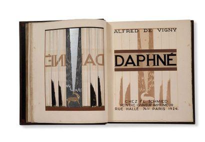 SCHMIED FRANÇOIS-LOUIS (1873-1941) - VIGNY ALFRED DE (1797-1863) Daphné. Paris, chez...