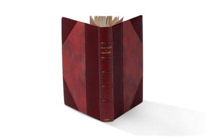 SUARÈS ANDRÉ (1868-1950) - Variables. Paris, Émile-Paul frères, 1929. In-8, 215 pages,...