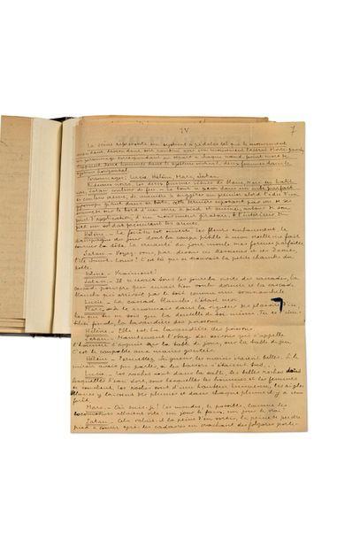 BRETON André (1896-1966) Manifeste du Surréalisme. Poisson Soluble, édition originale....