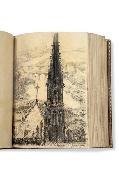 CAIN GEORGES (1853-1919) - JOUAS CHARLES (1866-1942) La Seine du Point-du-Jour à...